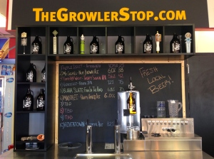 The Growler Stop station